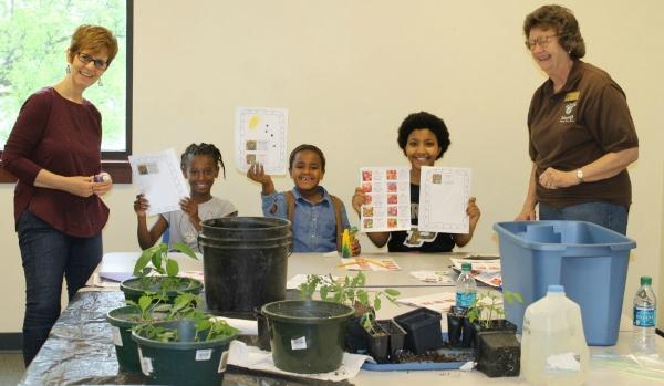 Master Gardeners Homeschool Co-op Class; gardening for kids!