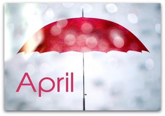 Birthday Lessons in April - fun for homeschoolers!