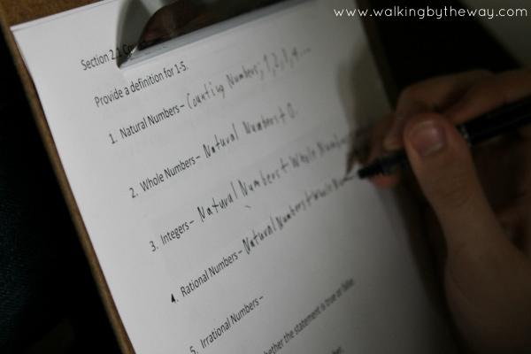 Mr. D Algebra I Course for Homeschool High School Math