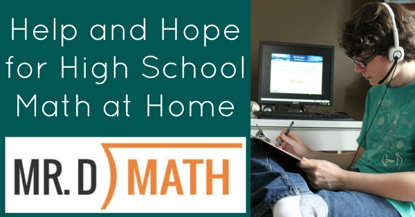 Help and Hope for High School Math at Home - Walking by the Way