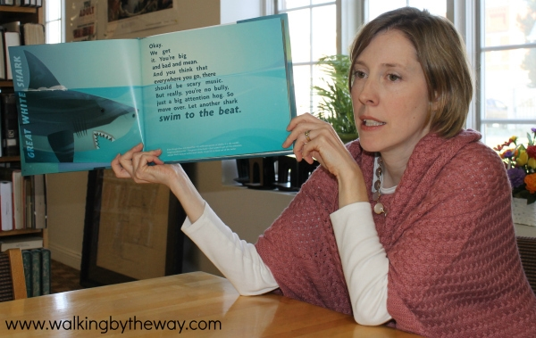 Skila Brown reads from Slickety Quick: Poems about Sharks
