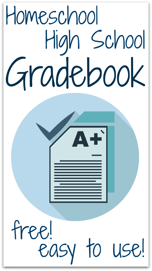 Homeschool High School Gradebook - free and easy to use!