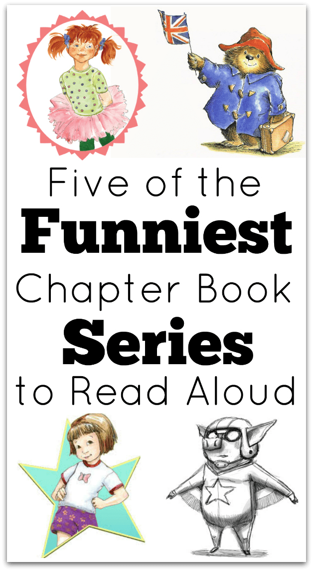 Funny Chapter Books to Read Aloud to Your Kids