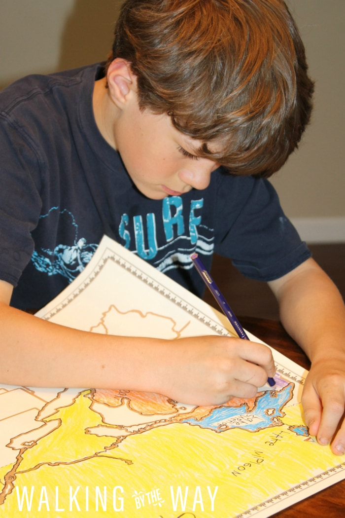 The perfect geography program for a kid who loves nature!