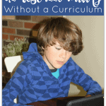 How to Teach Homeschool Writing Without a Curriculum
