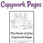 Copywork Pages for The Gospel of John