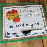 Johny Appleseed Blessing Copywork