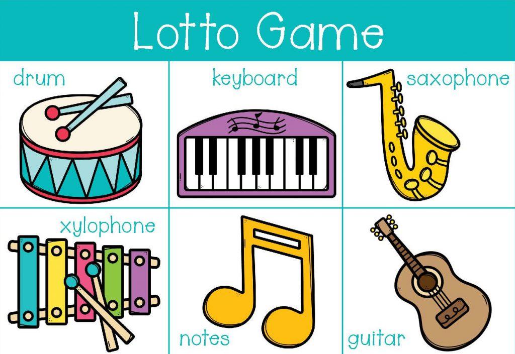 Preschool Busy Bag Lotto Game