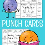 Reading Challenge Punch Cards