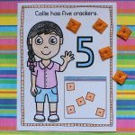 Counting Crackers Coloring Book