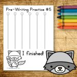 Pre-Writing Practice Pages for Preschool: Large Edition