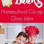 Cook with Books Homeschool Co-op Class