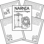 Narnia Copywork