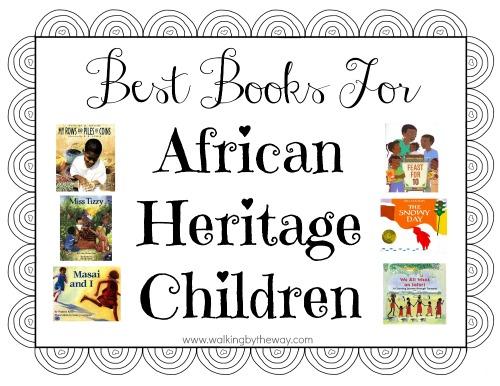 Best Books for African Heritage Children