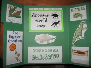 dinosaur lapbook walking by the way. Black Bedroom Furniture Sets. Home Design Ideas