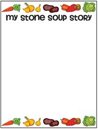 image about Stone Soup Story Printable identify Stone Soup! and Printable Electrical power - Strolling via the Route